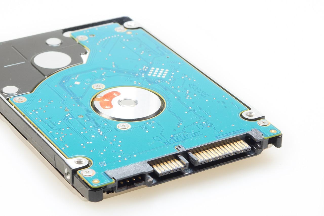 données disque dur