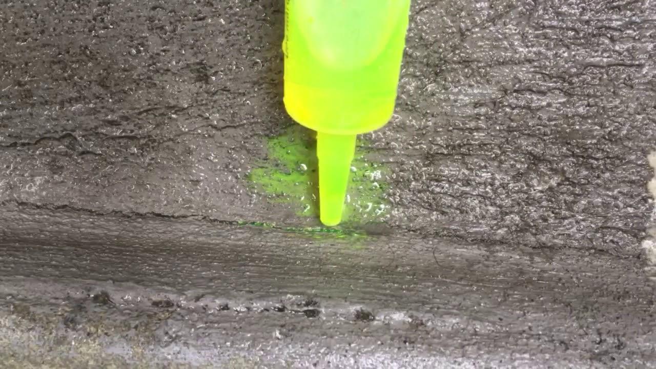 le colorant d'eau pour rechercher les fuites d'eau